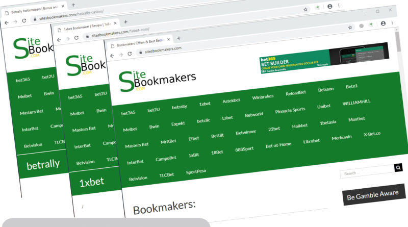 The Most Popular Biggest Online Bookmakers